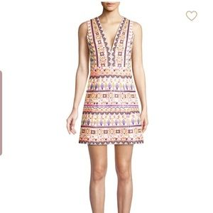 Alice and olivia patty embroidered dress